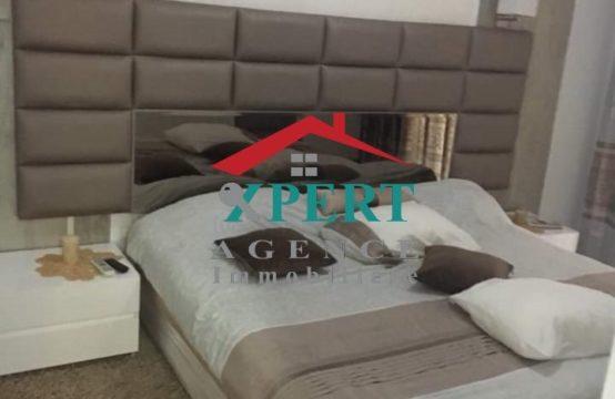 Appartement s2 richement meublé à la zone touristique khezema