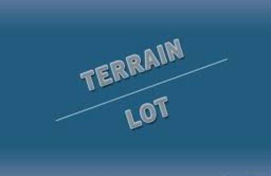 un lot de terrain 7200 m² à sidi Abed Ahmid zone industrielle Titré